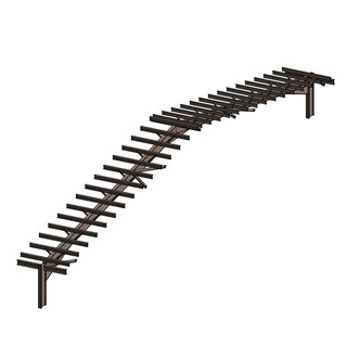 LOD 4 Model representation of Heavy steel roof framing systems.